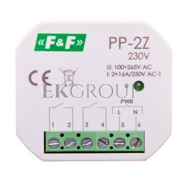 Przekaźnik elektromagnetyczny 2Z 16A 100-265V AC PP-2Z 230V-168792