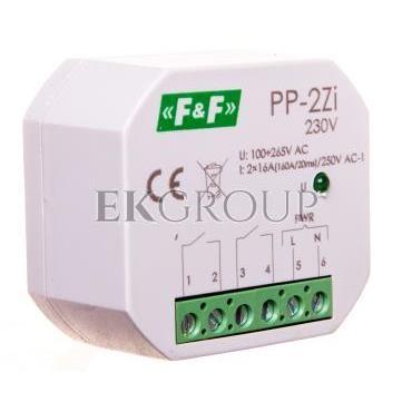 Przekaźnik elektromagnetyczny 2Z 16A 100-265V AC (160A/20ms) PP-2Zi 230V-168795