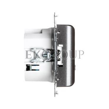 Simon 54 Regulator temperatury z wyświetlaczem, wewnętrzny czujnik temperatury antracyt DTRNW.01/48-167058