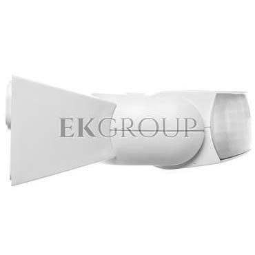 Czujnik ruchu i zmierzchu na podczerwień 10 metrów 500W 120 stopni 230-240V 50Hz IP54 biały IS 1 B 600310-167558