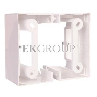 Simon Basic Neos Puszka natynkowa pojedyncza składana 40 mm. (1 szt. PSCS/.. = 2 elementy) biała PSCS/11-172378