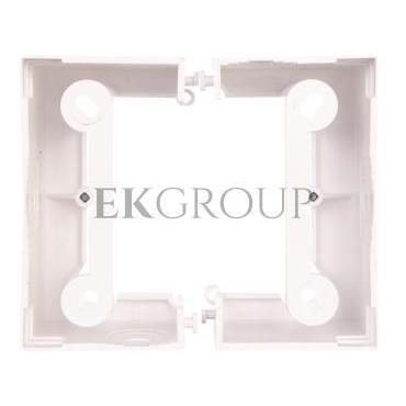Simon Basic Neos Puszka natynkowa pojedyncza składana 40 mm. (1 szt. PSCS/.. = 2 elementy) biała PSCS/11-172379