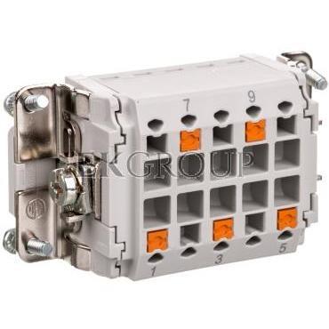Wkładka stykowa 3 2 PE HC-HV03-I-PT-F 1407743-173582
