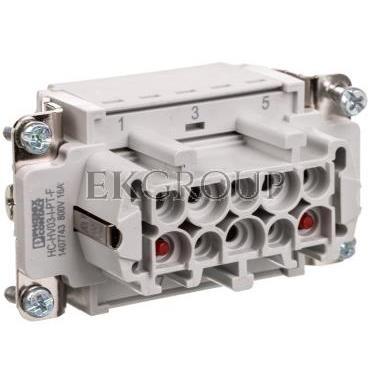 Wkładka stykowa 3 2 PE HC-HV03-I-PT-F 1407743-173583