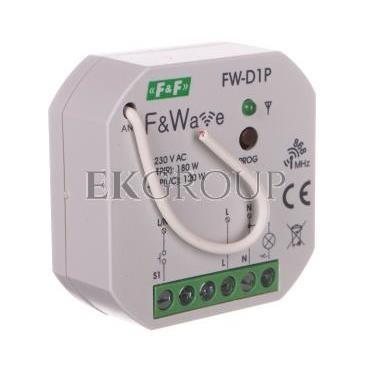 Radiowy ściemniacz uniwersalny 230V - montaż p/t 85-265V AC/DC FW-D1P-168832
