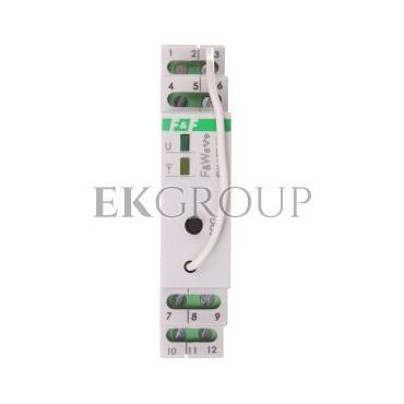 Radiowy dwukanałowy sterownik LED 12V - montaż DIN 10-16V DC FW-LED2D-168647
