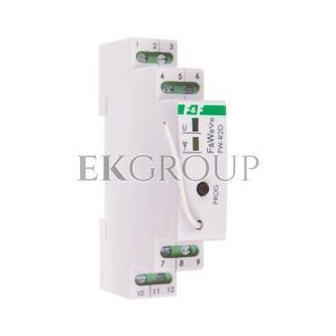 Radiowy podwójny przekaźnik bistabilny - montaż DIN 85-265V AC/DC FW-R2D-168653