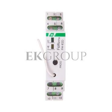 Radiowy podwójny przekaźnik bistabilny - montaż DIN 85-265V AC/DC FW-R2D-168654