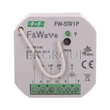 Radiowy sterownik rolet 230V- montaż p/t 85-265V AC/DC FW-STR1P-168840