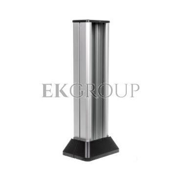Simon Connect Minikolumna ALC jednostronna 4xK45 anodyzowane aluminium/ szary grafit ALC312/8/14-167008