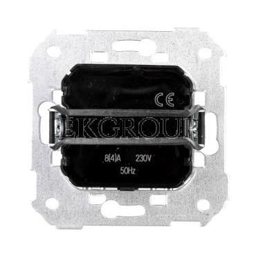 Simon 82 Termostat 5-35stC do sterowania ogrzewaniem i klimatyzacją mechanizm 75503-39-174732
