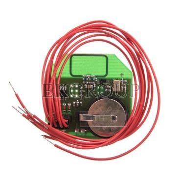 Nadajnik sterowania radiowego czteruprzyciskowy 3V CR2032 868MHz fi52 RS-N4-174683