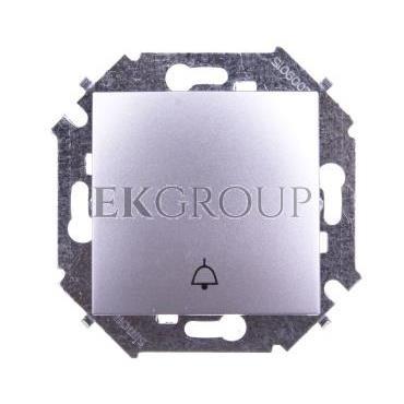 Simon 15 Przycisk /dzwonek/ aluminium metalizowane 1591659-026-169891