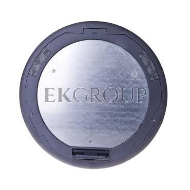 Simon Connect Puszka KF podłogowa okrągła fi 300mm 6xK45 kątowa szara KF300C/1-166703