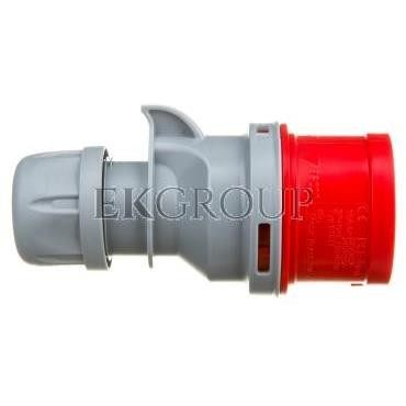 Wtyczka przenośna 16A 5P 400V czerwona IP44 TURBO SHARK 015-6TT-174134