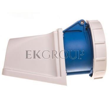 Gniazdo stałe 32A 5P 230V niebieskie IP67 1252-9v-167803
