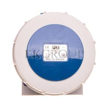 Gniazdo stałe 32A 5P 230V niebieskie IP67 1252-9v-167804