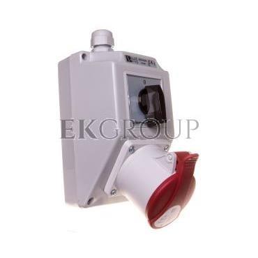 Zestaw instalacyjny z gniazdem 32A 5P (0-1) ZI02\R441-174986