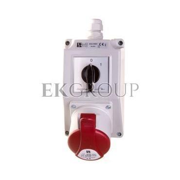 Zestaw instalacyjny z gniazdem 32A 5P (0-1) ZI02\R441-174987