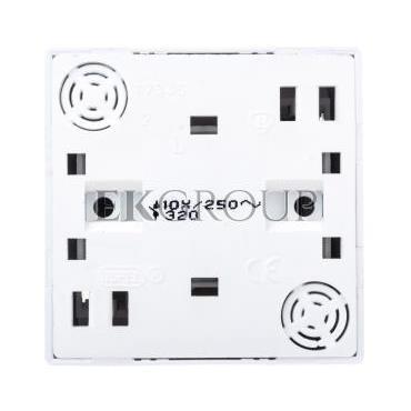 BIS Przycisk /dzwonek/ biały ŁN-6B/00-169870
