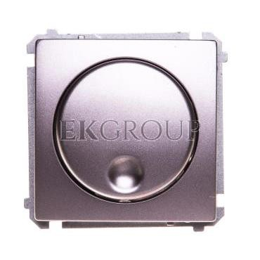 Simon Basic Ściemniacz naciskowo obrotowy (moduł) 20-500W 230V stal inox BMS9T.01/21-173233