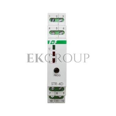 Sterownik rolet do silników 12/24V DC STR-4D-168784
