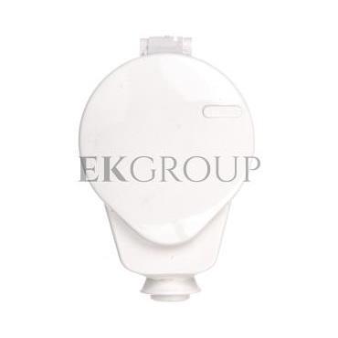 Gniazdo wtyczkowe AWA-GKB 16A 2P Z 230V IP20 białe 51.45-167850