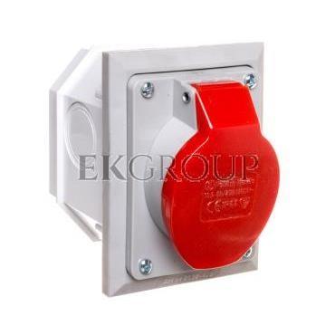 Gniazdo izolacyjne skośne p/t 16A 250/400V 5P IP44 2622-420-167829