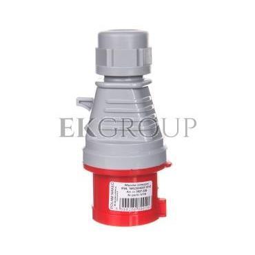Wtyczka izolacyjna przenośna 16A 400V 4P IP44 /szybkozłączne/ 3627-326-174201