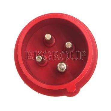 Wtyczka izolacyjna przenośna 16A 400V 4P IP44 /szybkozłączne/ 3627-326-174202