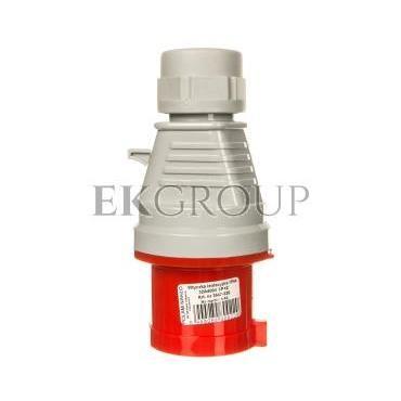 Wtyczka izolacyjna przenośna 32A 400V 4P IP44 /szybkozłączne/ 3647-326-174203
