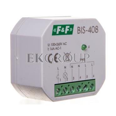 Przekaźnik bistabilny 1Z 16A 230V AC BIS-408-168767