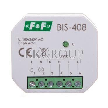 Przekaźnik bistabilny 1Z 16A 230V AC BIS-408-168768