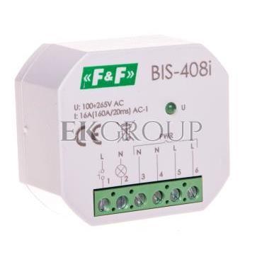 Przekaźnik bistabilny 1 Z 16A 230V AC Inrush BIS-408i-168769