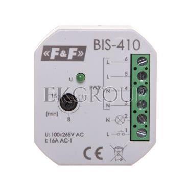 Przekaźnik bistabilny 1Z 16A 230V AC  BIS-410-168772