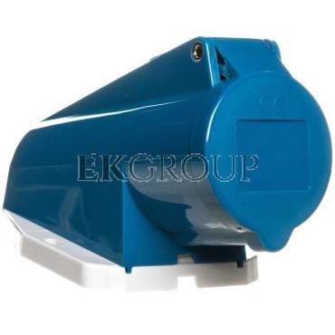 Gniazdo stałe 3P 16A 230V niebieskie IP44 1178 MEN1178-167858