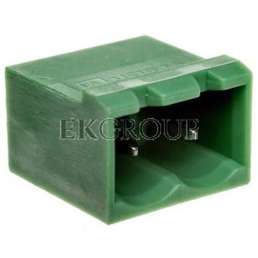 Gniazdo pinowe 2P 320V 12A zielone MSTBVA 2,5/ 2-G 1755516-173683