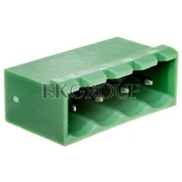 Gniazdo pinowe 4P 320V 12A zielone MSTBVA 2,5/ 4-G 1755532-173684