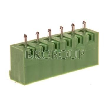 Gniazdo pinowe 6P 320V 12A zielone MSTBVA 2,5/ 6-G 1755558-173685