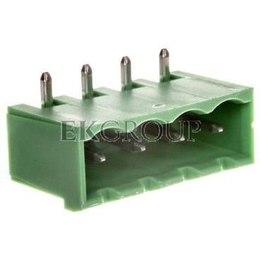Gniazdo pinowe 4P 320V 12A zielone MSTBA 2,5/ 4-G-5,08 1757268-173696