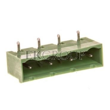Gniazdo pinowe 4P 12A 630V raster 7,62mm zielone GMSTBA 2,5/ 4-G-7,62 1766259-173705