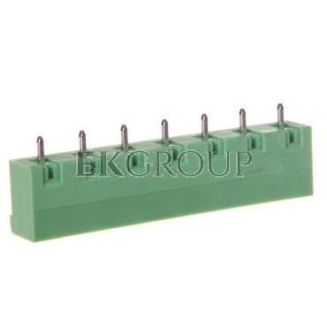 Gniazdo pinowe 7P 12A 630V raster 7,5mm zielone GMSTBVA 2,5/ 7-G 1766712-173706