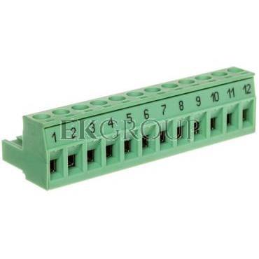 Złącze wtykowe płytek drukowanych 12P MSTB 2,5/12-ST-5,08 BD: 1-12 1767782-173762
