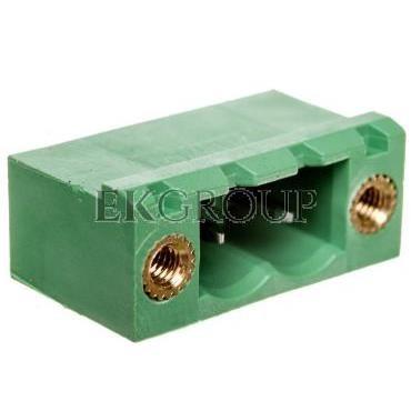 Gniazdo pinowe 2P 320V 12A zielone MSTBV 2,5/ 2-GF-5,08 1777073-173714