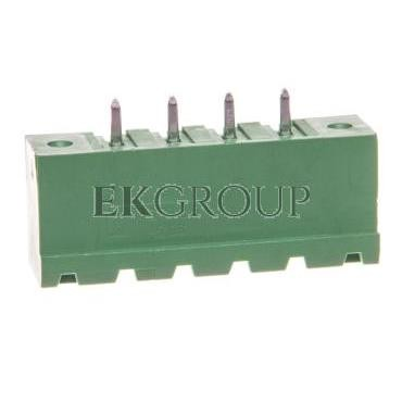 Gniazdo pinowe 4P 320V 8A zielone MSTBV 2,5/ 4-GF-5,08 1777099-173715