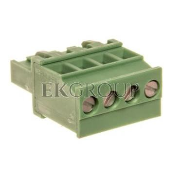 Wtyk śrubowy do płytek drukowanych 4P zielony MVSTBR 2,5/ 4-ST-5,08 1792265-173726
