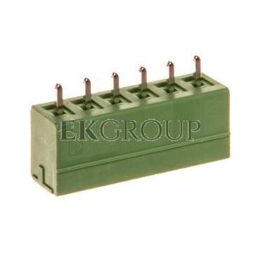 Gniazdo wtykowe 6P 160V 8A zielone MCV 1,5/ 6-G-3,81 1803468-173733