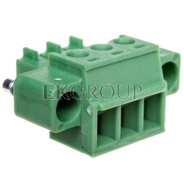 Wtyk śrubowy do płytek drukowanych 3P zielony MC 1,5/ 3-STF-3,81 1827716-173742