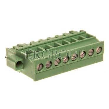 Wtyk śrubowy do płytek drukowanych 8P zielony MVSTBR 2,5/ 8-STF-5,08 1835151-173750