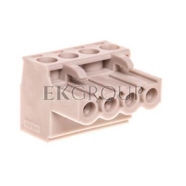 Wtyk śrubowy do płytek drukowanych 4P jasnoszary MSTBT 2,5/ 4-ST KMGY 1878037-173761